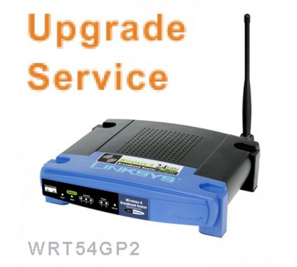 Linksys WRT54GP2 Firmware Upgrade-Service