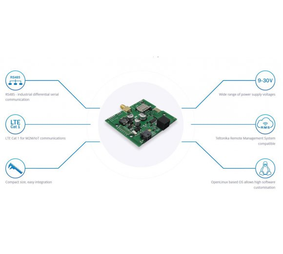Teltonika TRB145 RS485 - LTE industrial remote embedded board