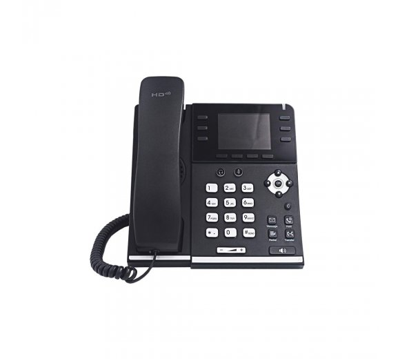 ESCENE Univois O3S Gigabit Colour IP Telephone with Bluetooth (Metallic Design)
