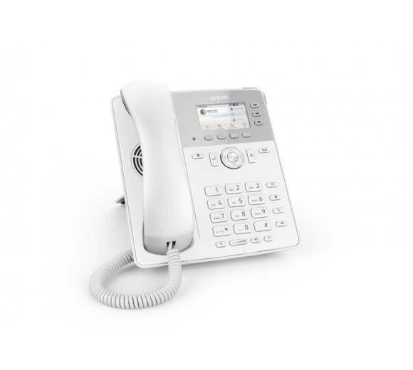 Snom D717 Desk Phone - White Edition