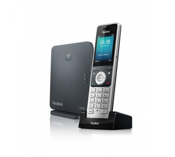 Yealink W60P IP DECT Set (W60B base + W56H) incl. charge