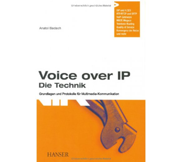 Buch: Voice over IP - Die Technik