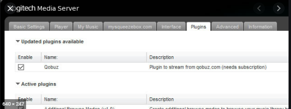 In the dietpi LMS option we need to enable the Qobuz plugin